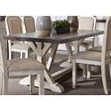 Vendor 5349 Willowrun Trestle Table - Item Number: 619-T3878