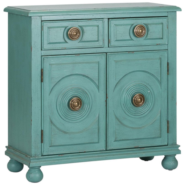 Liberty Furniture Winward Transitional 2 Drawer 2 Door Accent