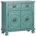 Liberty Furniture Winward 2 Drawer 2 Door Accent Cabinet - Item Number: 2007-AC3434
