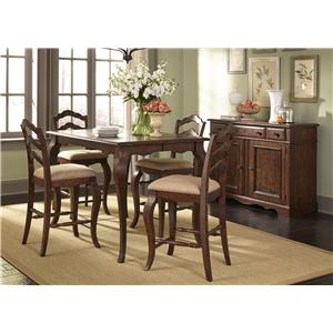 Liberty Furniture Woodland Creek  Casual Dining Room Group