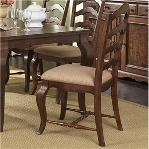 Liberty Furniture Woodland Creek  Ladder Back Side Chair
