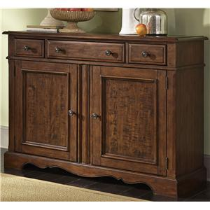 Liberty Furniture Woodland Creek  Server