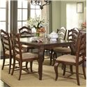 Liberty Furniture Woodland Creek  7 Piece Dining Table and Chairs Set - Item Number: 606-T4078+6xC2001S