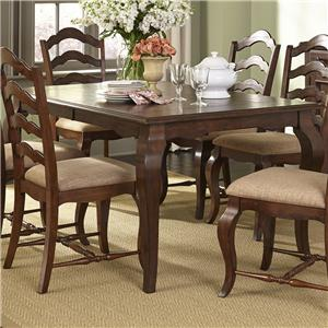 Liberty Furniture Woodland Creek  Rectangular Leg Table