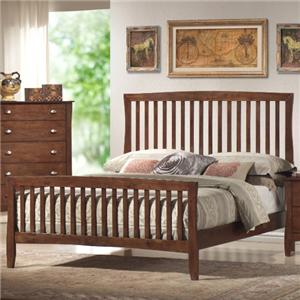 Lifestyle 0110 Queen Slat Bed
