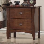 Lifestyle 0110 Night Stand w/ 2 Drawers