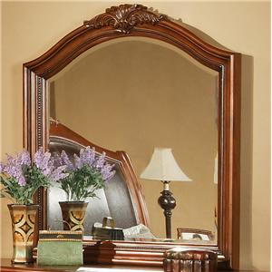 Lifestyle 0243 Acanthus Leaf Beveled Glass Mirror
