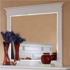Lifestyle 1111 Casual Beveled Landscape Dresser Mirror