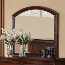 Lifestyle 1130 Bedroom Arched Frame Beveled Dresser Mirror