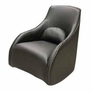 Lifestyle 11673 Contemporary Bonded Leather Rocker