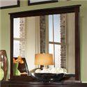 Lifestyle 1174 Bedroom Dark Espresso Dresser Mirror