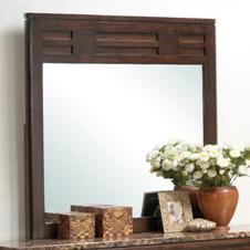 Lifestyle 1187 Bedroom Transitional Framed Dresser Mirror