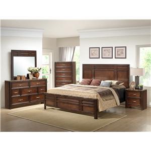 Lifestyle 1187 Queen Bedroom Group