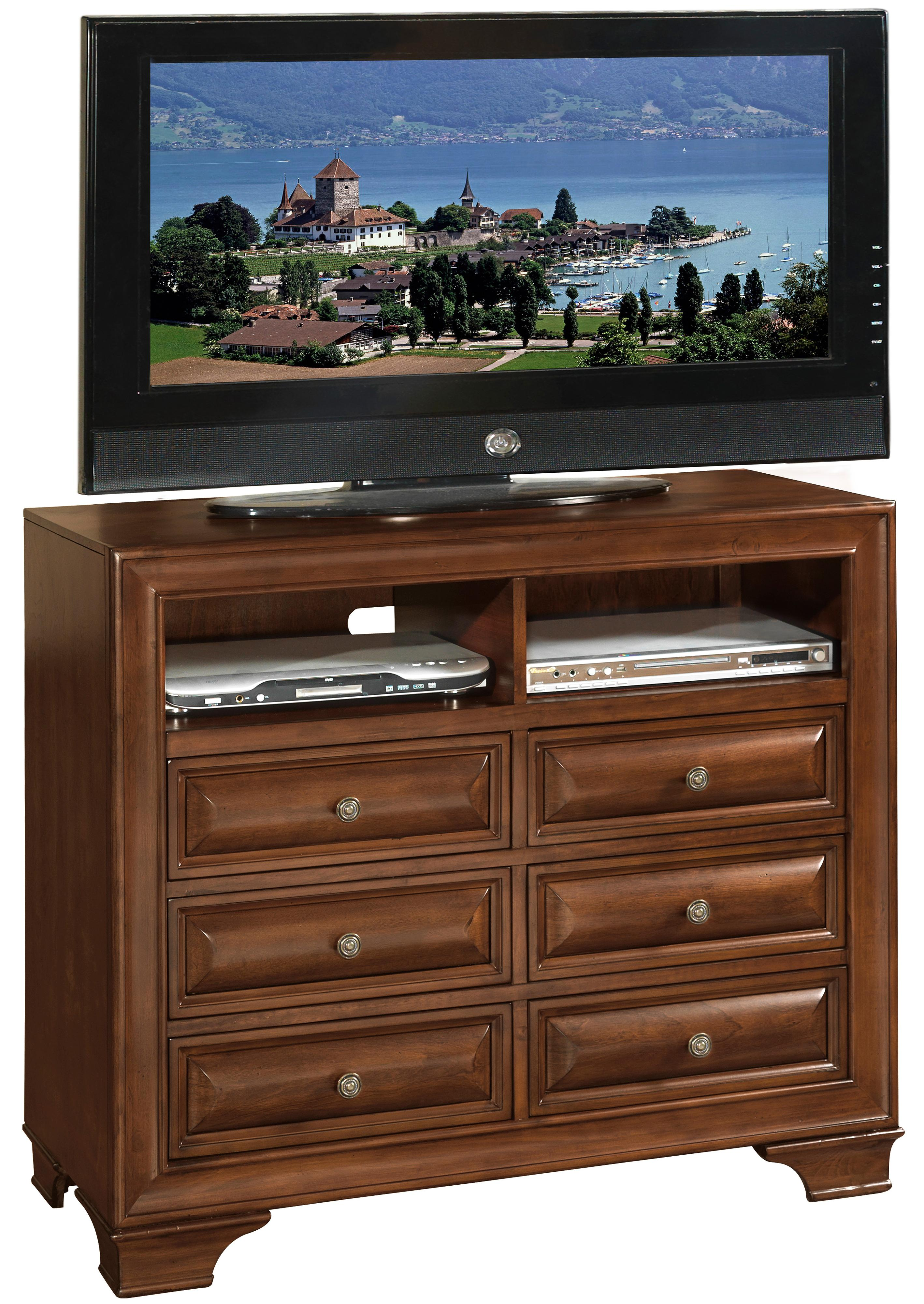 Lifestyle 1192 Media Chest - Item Number: C1192A-070-6DCH