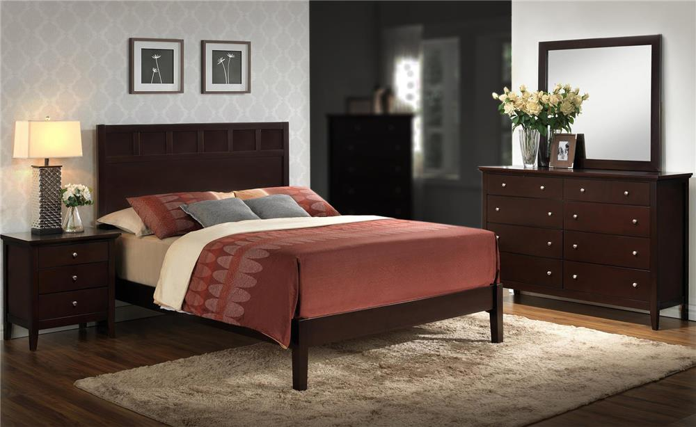 Lifestyle Harper 4-Piece King Bedroom Set - Item Number: C5125-KBR-4PC