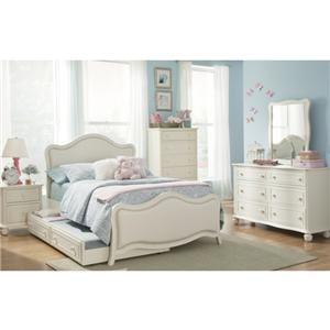 Lifestyle Daydreams Twin Bed w/ Trundle