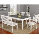 Lifestyle 1735P 6-Piece Table Set - Item Number: 1735D-6