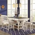 Lifestyle 1735P 6-Piece Pub Table Set - Item Number: 1735P-6
