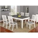 Lifestyle 1735P 7-Piece Table Set - Item Number: 491318361