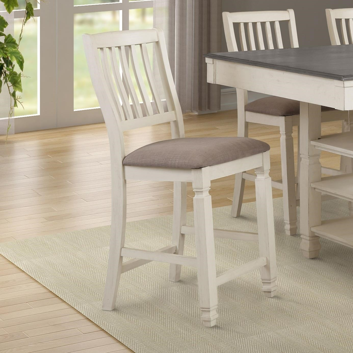 MAPLE Pub Chair by Lifestyle at EFO Furniture Outlet
