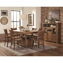 Lifestyle Jeff Casual Dining Room Group - Item Number: C1842P Casual Dining Room Group 1