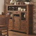 Lifestyle Jeff Tall Buffet - Item Number: C1842P-DBX