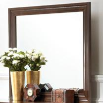 Lifestyle 2142 Bedroom Cherry Framed Landscape Mirror