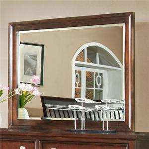 Lifestyle 2146A Casual Landscape Mirror with Beveled Glass