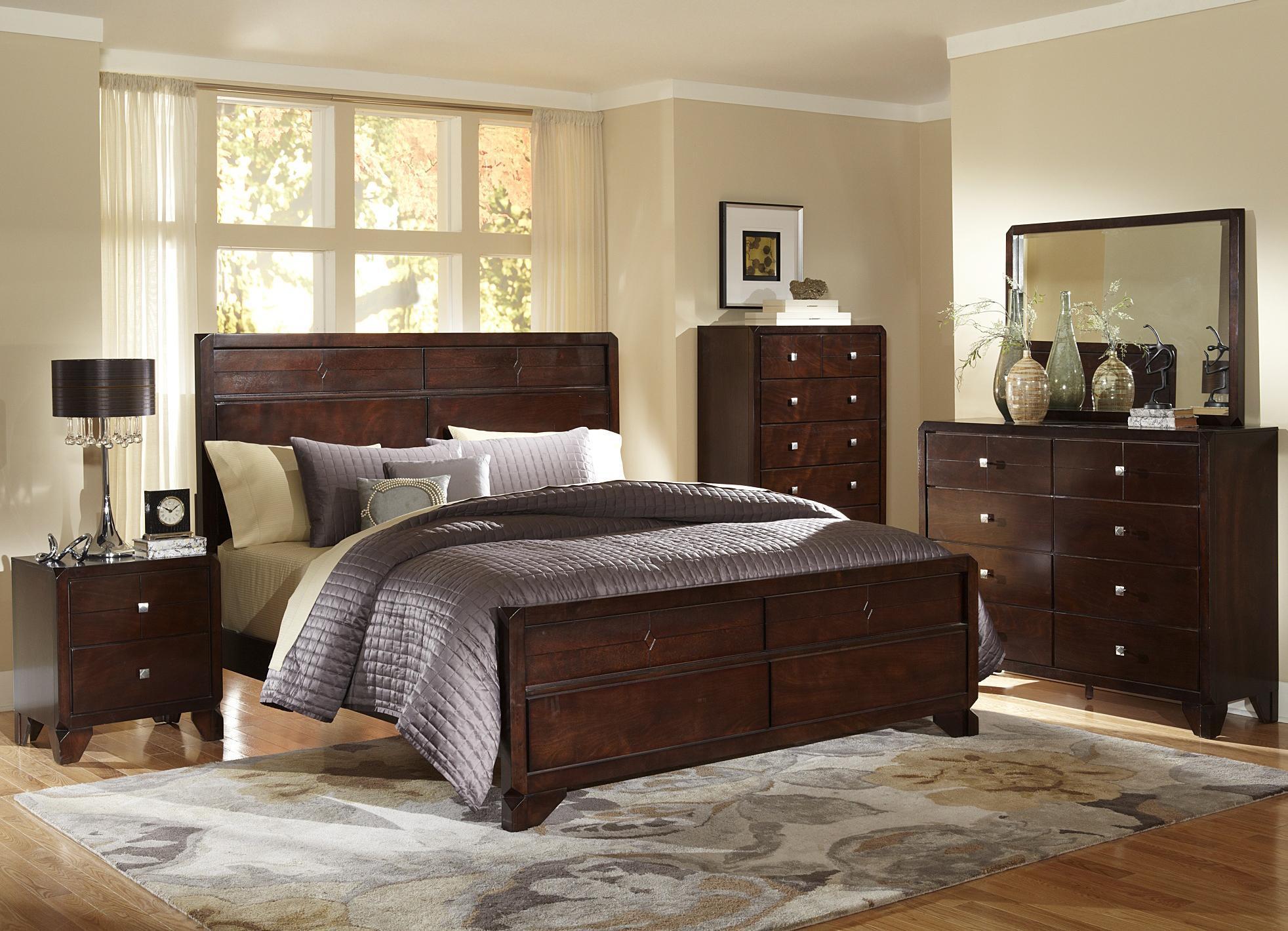 Lifestyle Potbar Queen 4-Piece Bedroom Group - Item Number: 2180 Q Bedroom Group 2