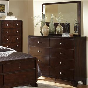 Lifestyle 2180A Dresser and Mirror