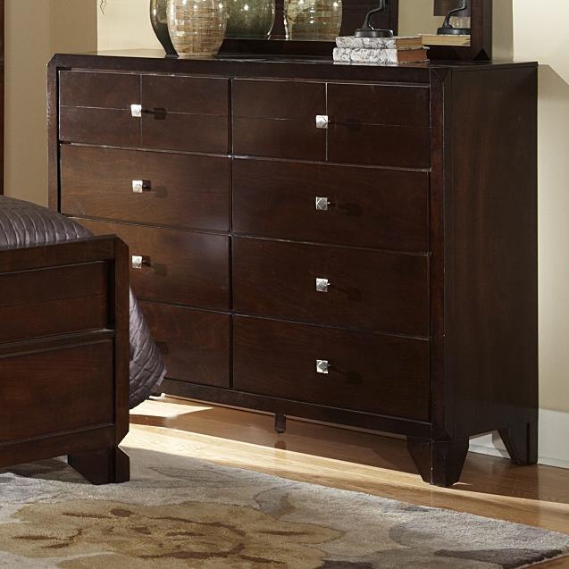 2180A Dresser by Lifestyle at Furniture Fair - North Carolina