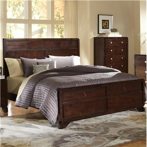 Lifestyle 2180A Queen Headboard Bed