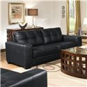 Lifestyle 2470 Contemporary Sofa with Track Arms