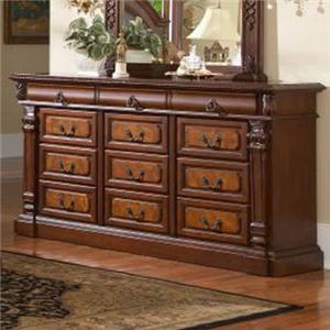 Lifestyle 3218A 12 Drawer Dresser