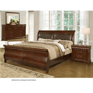 Lifestyle 4116A- Misk 4PC King Bedroom Group