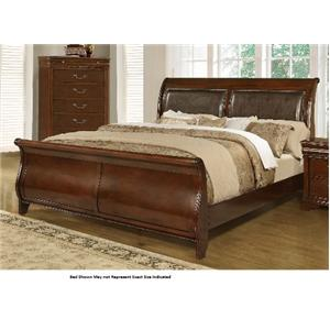 Lifestyle 4116A- Misk King Sleigh Bed