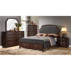 Lifestyle Avery 5PC King Storage Bedroom Set