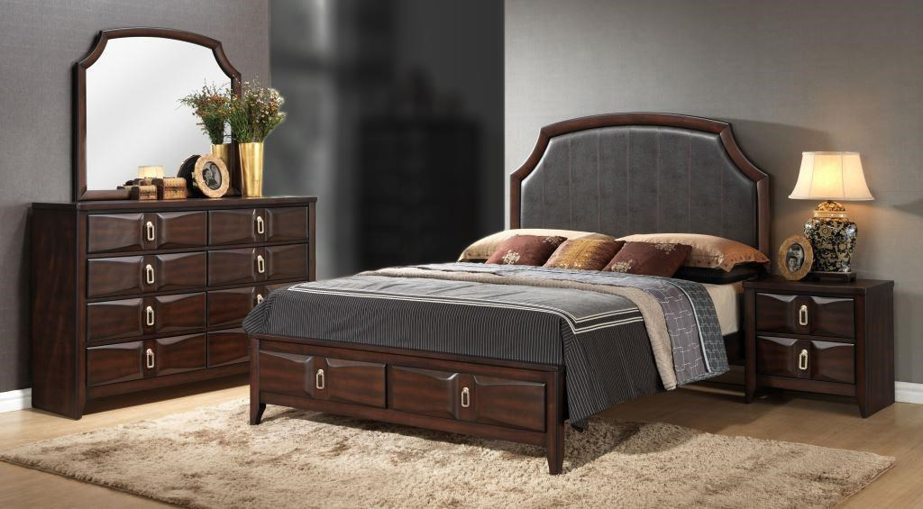 Lifestyle Avery 4PC Queen Storage Bedroom Set - Item Number: 4157A-Q4PC