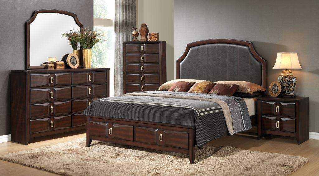 Lifestyle Avery 5PC Queen Storage Bedroom Set - Item Number: 4157A-Q5PC