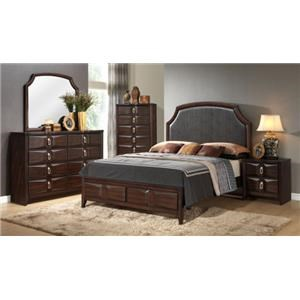 Lifestyle Charlie Queen 4-Piece Bedroom Group