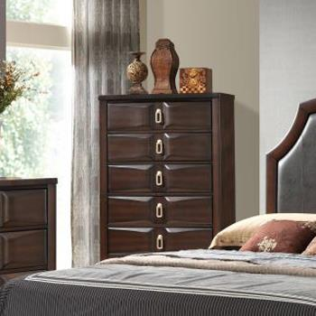 Lifestyle Charlie Chest of Drawers - Item Number: C4157A-030-5DXX