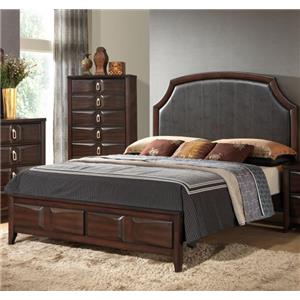 Lifestyle 4157A Queen Upholstered Bed