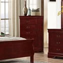 Lifestyle 4937 5 Drawer Chest - Item Number: C4937A-030-5DXX