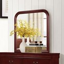 Lifestyle 4937 Mirror with Wood Frame - Item Number: C4937A-050-MHXX