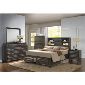 Lifestyle 5236A King Bedroom Group