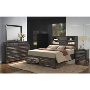 Lifestyle Slater 4PC Queen Bedroom Set