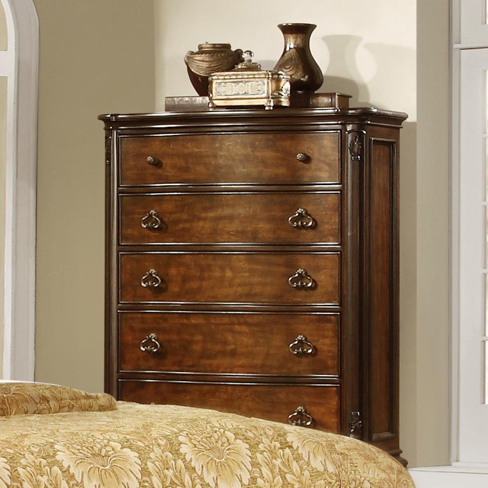 Lifestyle St. Charles Chest with 5 Drawers - Item Number: C5390A-035-5DXX