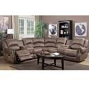 Lifestyle 5530S Casual Sectional Sofa - Item Number: U5530S-42L+W0X+42R-BQTB