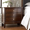 Lifestyle 5817 3-Drawer Nightstand - Item Number: C5817A-020
