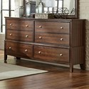 Lifestyle Stacey 6-Drawer Dresser - Item Number: C5817A-040